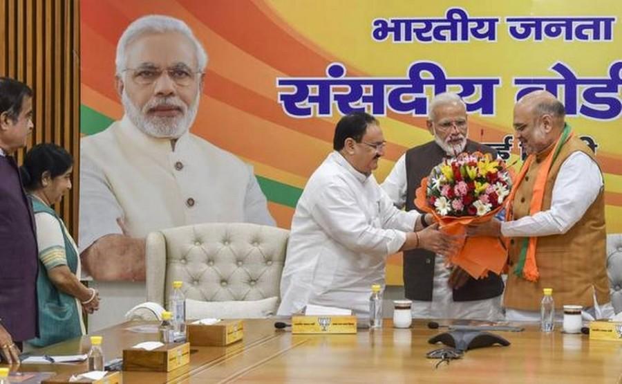 J.P. Nadda appointed BJP's working president
