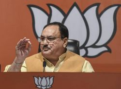 """The time of Mamata Banerjee's government is over"": BJP working president J.P. Nadda"