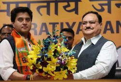 Jyotiraditya Scindia, who exited Congress after 18 years, joins BJP in presence of JP Nadda