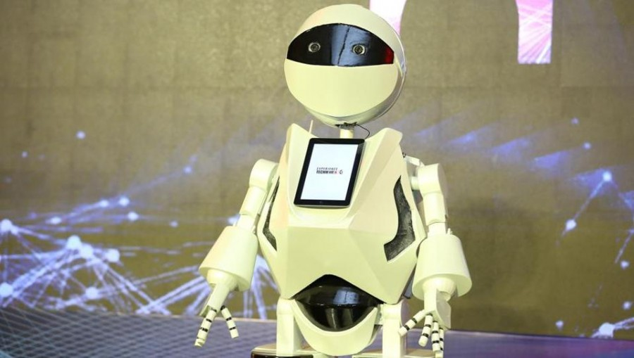 Tech Mahindra unveils K2, an AI-based HR humanoid