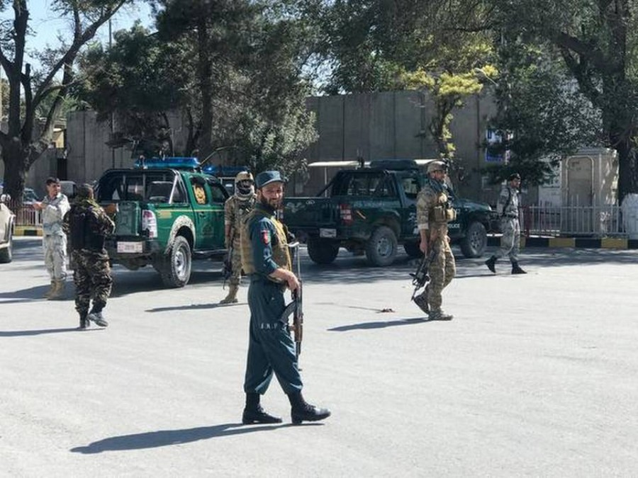 Blast kills 24 at Afghan election rally, President Ashraf Ghani unhurt