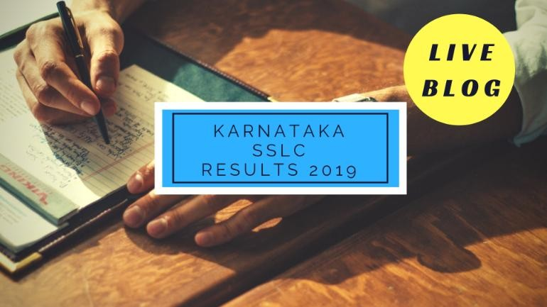 Karnataka SSLC Results 2019 : Press conference to announce class 10 results starting at 12 pm