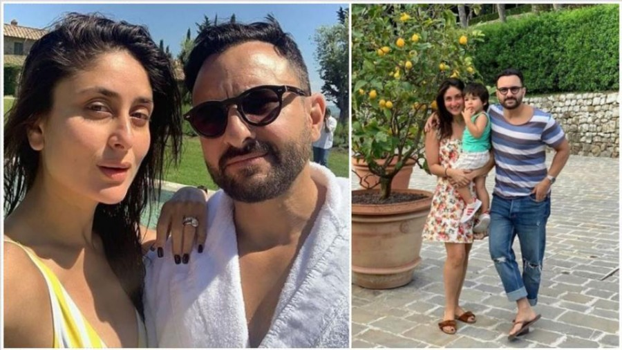 Kareena Kapoor, Saif Ali Khan and Taimur Ali Khan enjoy summer vacation in Tuscany