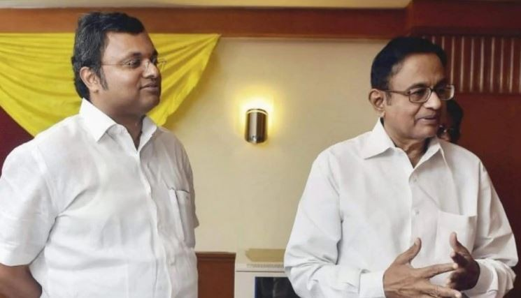 No 56 can stop you: Karti writes to his father P Chidambaram on his 74th birthday