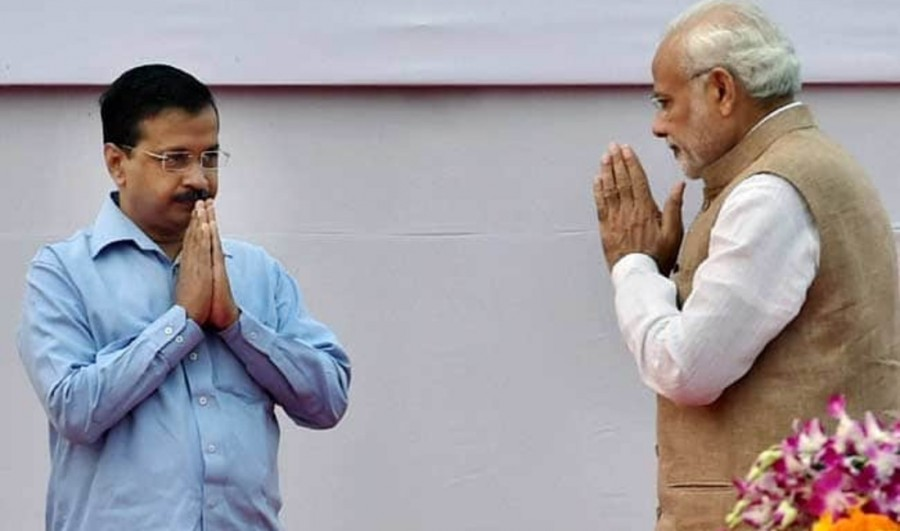 AAP congratulates BJP, hopes for Narendra Modi to do good work