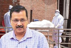 Kejriwal seeks report on COVID-19 deaths in Delhi in past 2 weeks