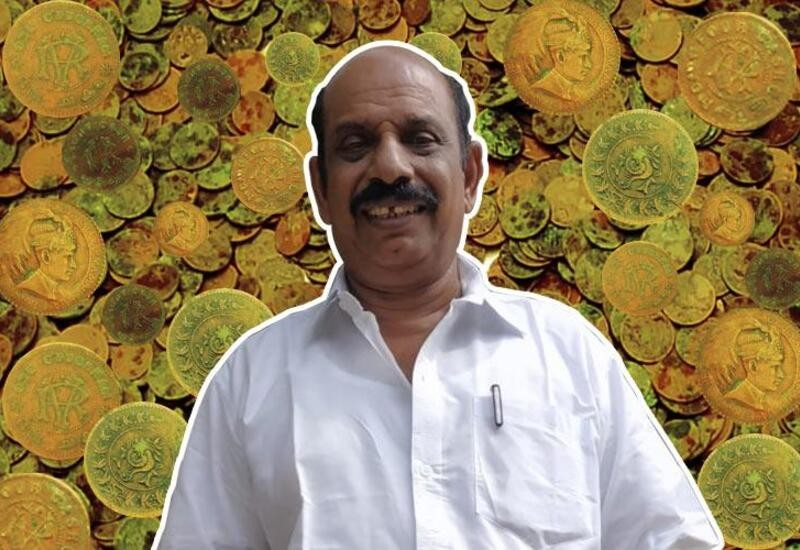 Kerala man finds hidden treasure on land bought from ₹6 crore lottery money