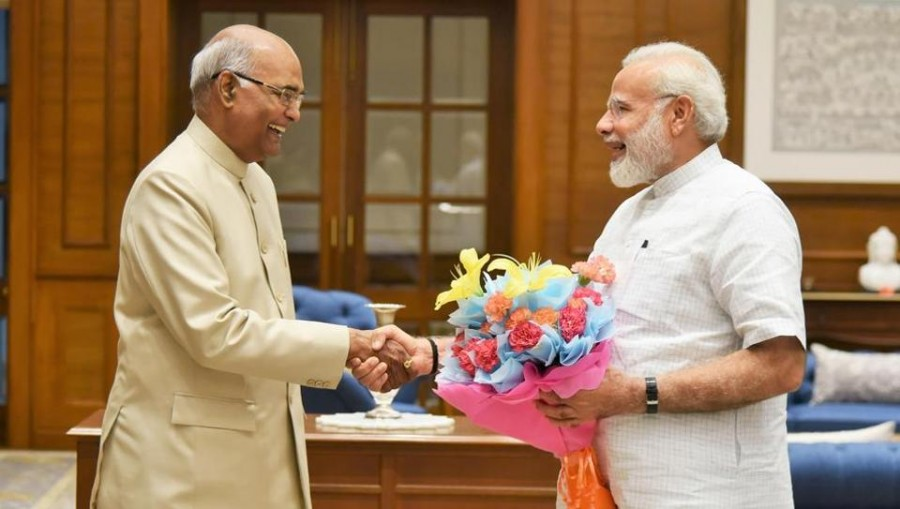 PM Modi to meet President Kovind later today