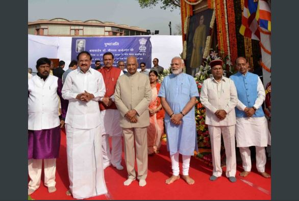President Kovind, PM Modi Pay Tribute on Ambedkar Jayanti