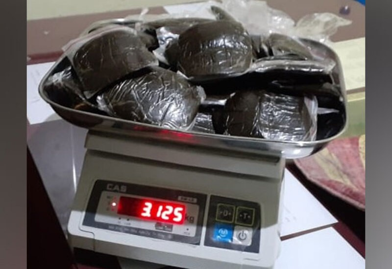 Police arrest man with over 3kg cannabis in Himachal's Kullu