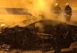 Modified limited-edition Lamborghini worth $2.5 million ruined in fire, Watch