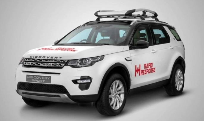 Jaguar Land Rover India hands over specially prepared Discovery Sport to NGO for relief operations
