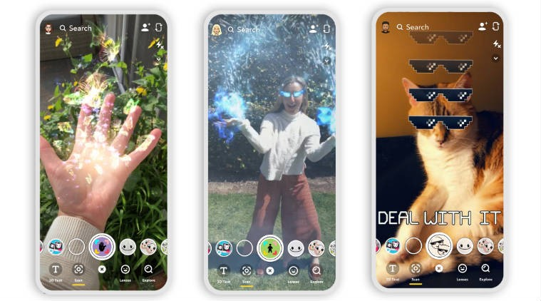 Snapchat adds new AR features to camera, launches Snap Games, and takes Stories to other apps