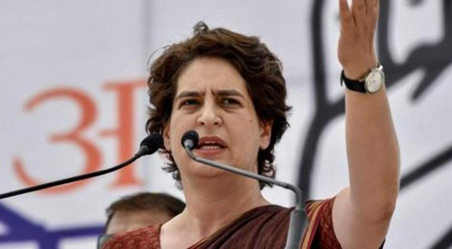 Priyanka Gandhi mocks PM's cloud theory, says he's on people's radar