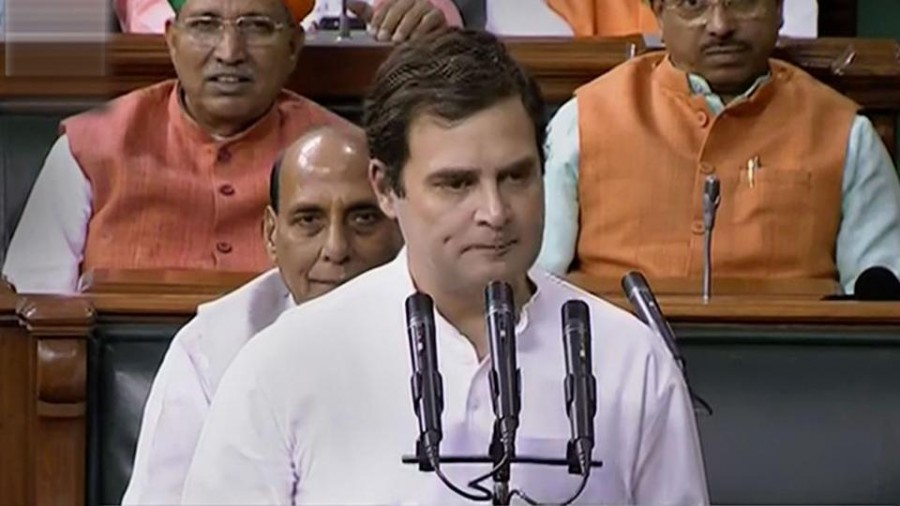 Rahul Gandhi's first LS speech is about Wayanad, sets up faceoff with Rajnath Singh