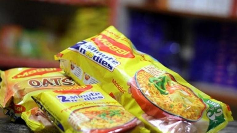 No, Maggi doesn't contain pig fat its packaged food