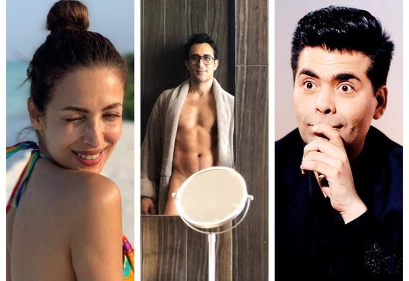 Rahul Khanna's bold mirror selfie sets fire on internet, Malaika made sexy comment