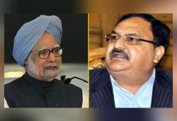 India fully trusts and supports PM Modi: Nadda to Manmohan Singh