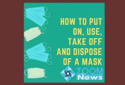 What is the correct way to wear a mask?