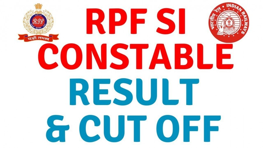 RPF SI, Constable results declared