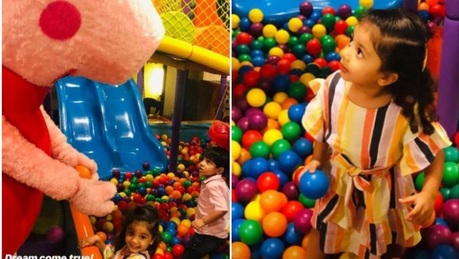 Mira Rajput shares pics of daughter Misha at her 'dream come true' Peppa Pig party