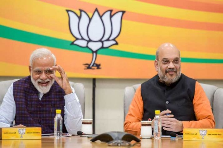 BJP to release its 'Sankalp Patra' today against Congress' Jan Awaaz