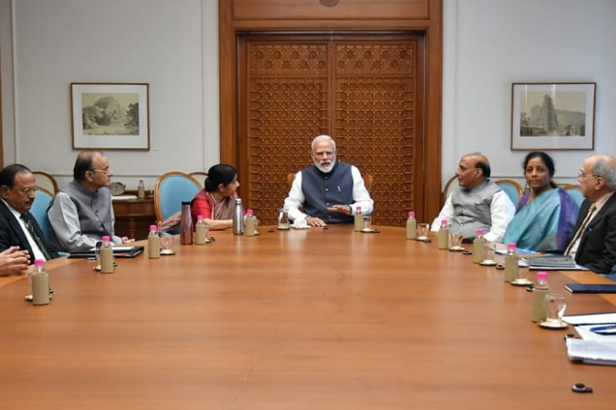 PM Modi Holds High-level Security Meet as India Strikes Pakistan Days After Pulwama Attack