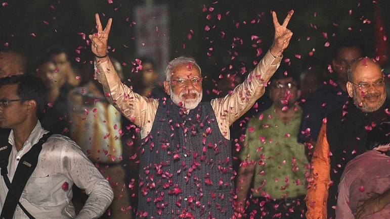 'Victory of democracy': PM thanks world leaders, celebs