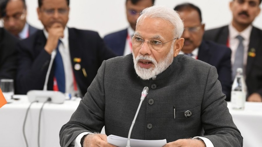 Terrorism the biggest threat to humanity: PM to BRICS leaders