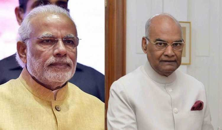 PM Modi and President Ram Nath Kovind Greets  people on Onam