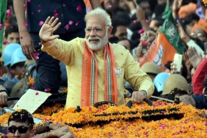 PM Modi's mega roadshow and 'Ganga aarti' in Varanasi on Thursday, day before filing nomination