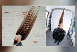 US man breaks Guinness World Record with 42.5-inch mohawk, pics released