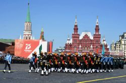 INDIAN ARMED FORCES CONTINGENT PARTICIPATED IN VICTORY DAY PARADE AT MOSCOW, RUSSIA