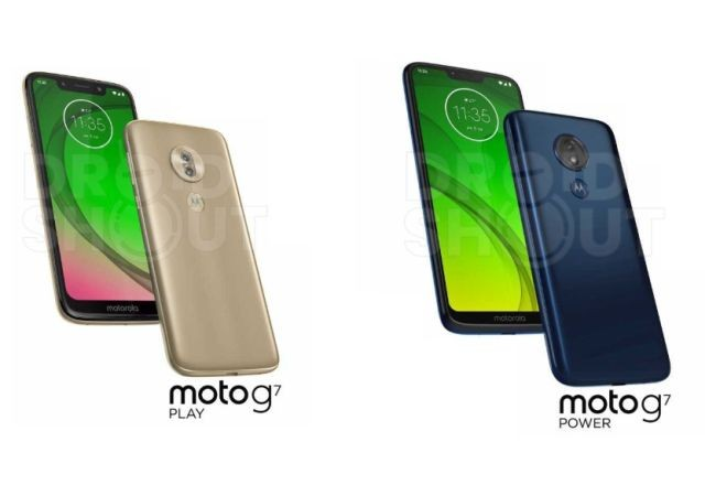 Moto G7, G7 Plus, G7 Play, G7 Power leaked ahead of official launch
