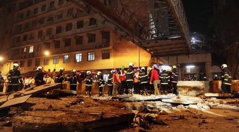 CST foot overbridge collapse: Director of firm that audited bridge arrested