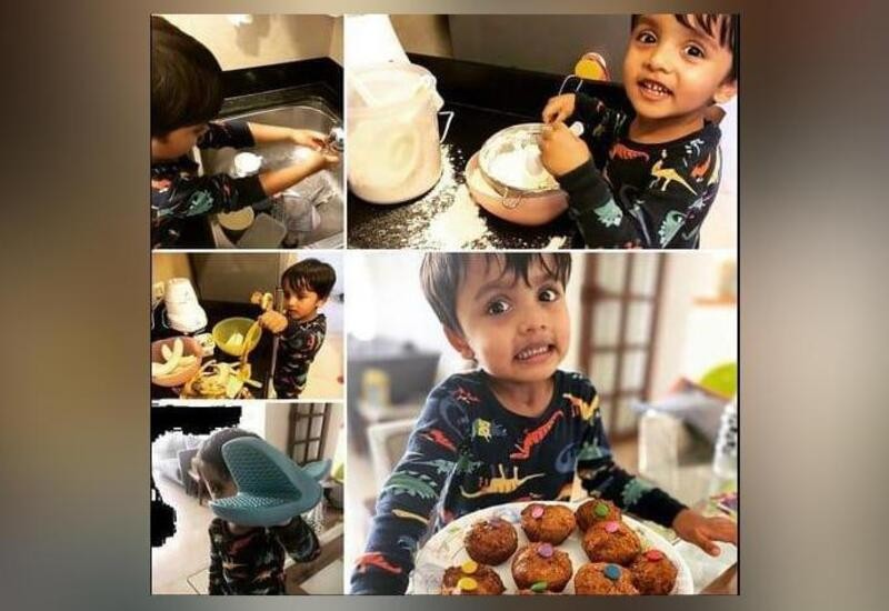 3-year-old boy raises ₹50,000 for Mumbai Police by selling cupcakes