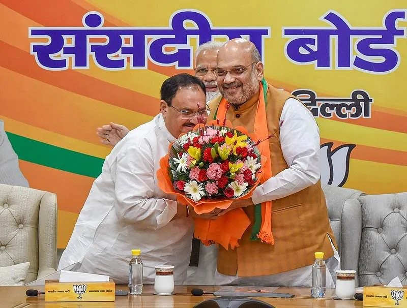 JP Nadda likely to become a new president of BJP, Nadda likely to succeed Amit Shah