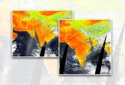 NASA satellite images show extent of heatwave in India