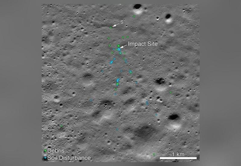 NASA finds Chandrayaan 2's Vikram Lander, shares pics of impact site