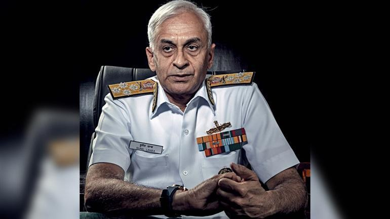 Terrorists are being trained to carry out attacks via sea: Navy chief Sunil Lanba