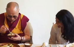 Nimrat Kaur Wishes Dalai Lama On His 85th Birthday