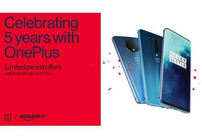 OnePlus Limited Period Sale on Amazon: OnePlus 7T & 7 Pro Available at Rs 34,999 & Rs 39,999 Till December 2