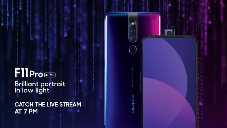 Oppo F11 Pro to Launch Today