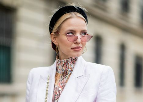 Padded headbands are the latest summer trend you need to follow