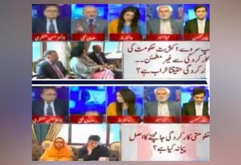 Pak panelist falls off his chair during live TV debate, anchor takes a break, Watch video