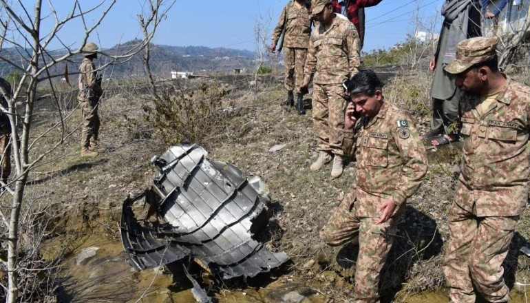 CONFIRMED: Pakistani F-16 fighter jet downed by India