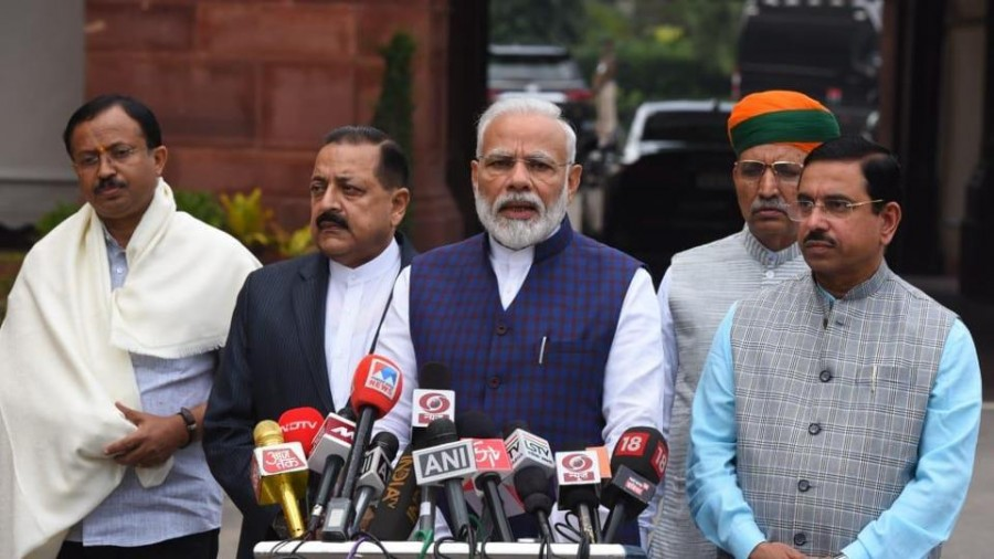 Parliament winter session begins today,'Want frank discussion on all matters' says PM Modi