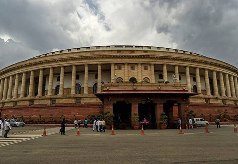 Congress Leaders Protests in Parliament over Electoral Bonds, PSU Privatisation, calls both issues 'Big Scams'