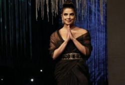 Priyanka Chopra walks the ramp at fashion festival in Mumbai