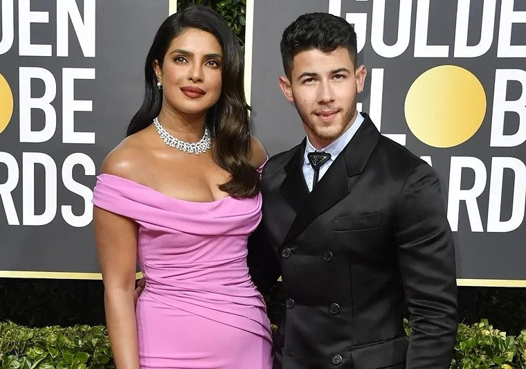 Priyanka Chopra and Nick Jonas spot at the Golden Globes Awards 2020, See pics